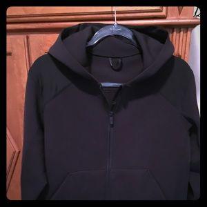 Lululemon Hooded Jacket Size 10-Black